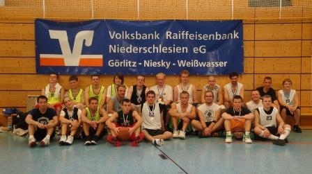 Basketball Spieler von der VRB Niederschlesien Summer League