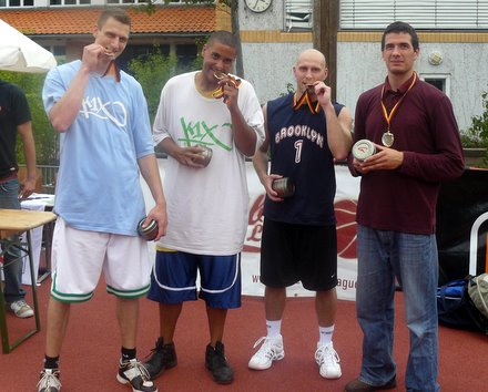 Payoffsieger der Streetball-League 2009